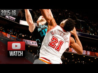 Hassan Whiteside Triple-Double Highlights at Hornets (2016.02.05) - 10 Pts, 10 Reb, 10 Blocks!