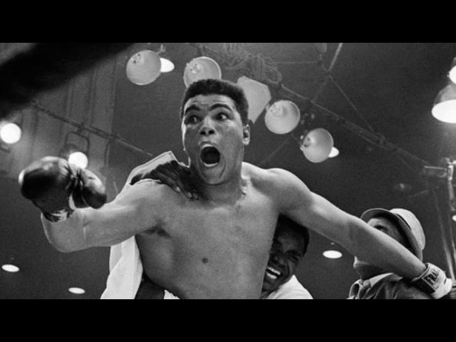 Muhammad Ali In His Prime Blinding Speed