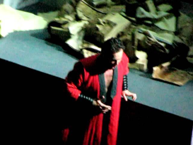 Attila, G.Verdi. Teatro Opera Roma, 25 Maggio 2012 -Mentre gonfiarsi l'anima