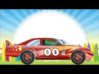 ✔ Araba çizgi film türkçe. Yarış arabası. Eğitici çizgi filmler. Tiki Taki çizgi filmleri ✔