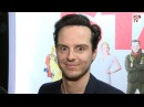 Sherlock Andrew Scott Interview - Moriarty Lives