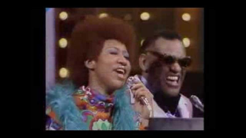 Ray Charles w/Aretha Franklin - Georgia On My Mind It Takes Two to Tango