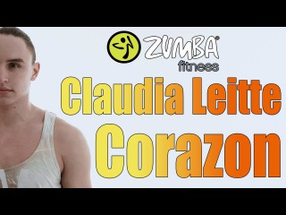 Claudia Leitte Ft Daddy Yankee - Corazón (cover fitness dance by Zumba Fitness 2016)[ HD]
