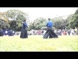 Katori shinto ryu démonstration : Festival dautomne au Meiji jingu (2014)