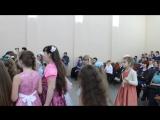 Елка в Ермишинской школе для 2 и  4 классов.
