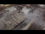 Пожар в Тушино