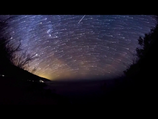 Geminid Meteor Shower Time-Lapse 2012
