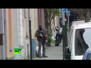 В Бельгии проходит операция по задержанию подозреваемого в терактах в Париже