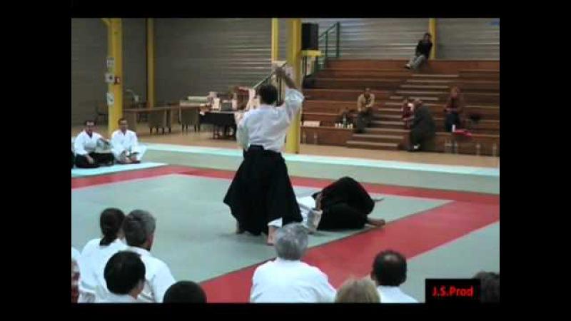 Aïkido - Christian Tissier Shihan : Irimi-nage