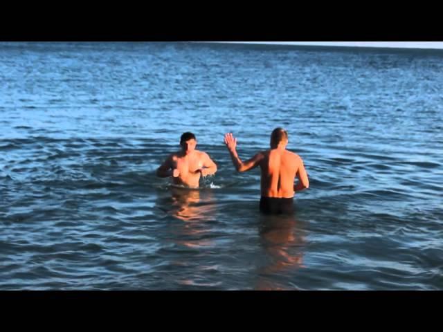 Крещение. Григоришин и Березуцкий.