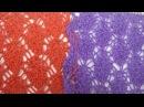 Вязание спицами - Узор Жучки. Spider Pattern