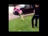 Girl Hit On Head By Spade EASTENDERS REMIX