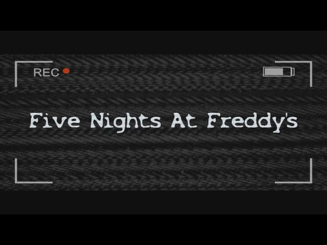 [FNAF MOVIE RUS]Five Nights At Freddy's - Night One [Озвучка] (Rus by Mia Rissy)