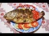Рыба в духовке Карп в фольге с овощами запеченная рыба Риба запечена в духовці