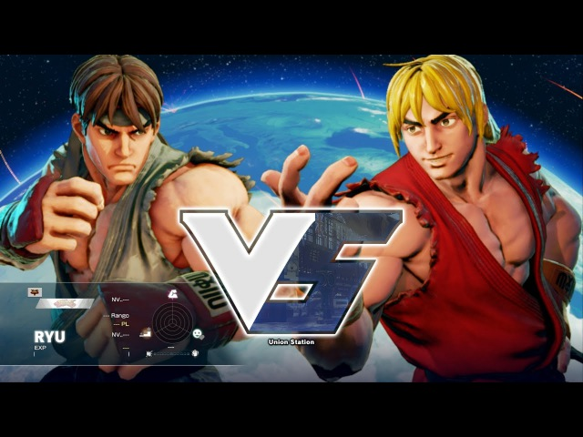 Street Fighter V PC - ALPHA RYU vs ALPHA KEN extra
