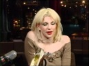 Courtney Love on David Letterman Hold On To Me - live
