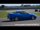 FAST!! Fiat Coupe 20v Turbo on track on board