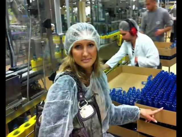 Посещение завода Орифлэйм в Швеции