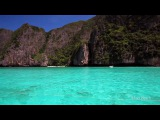 Amazing Blue Waters of Maya Bay, Koh Phi Phi, Phang Nga Bay Phuket, Thailand (Canon 5D Mark II)