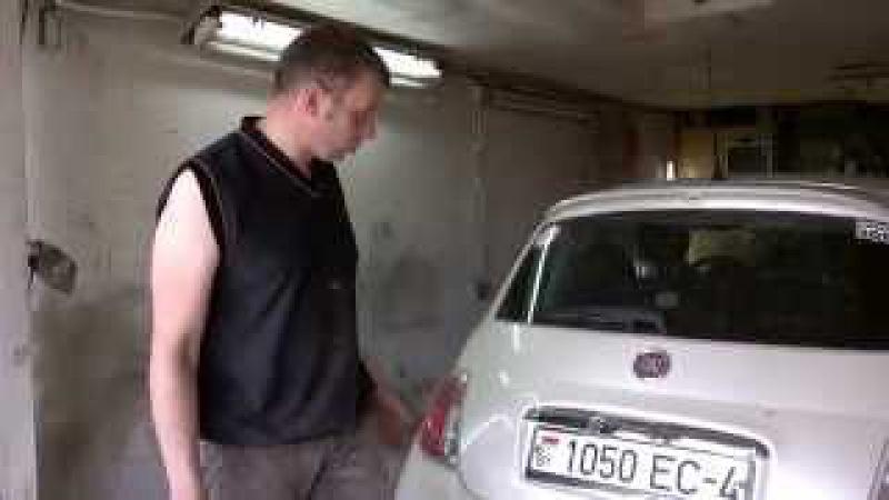МИРа Доступный антикор на примере Fiat 500 плюс покажу где он сгниёт первым делом