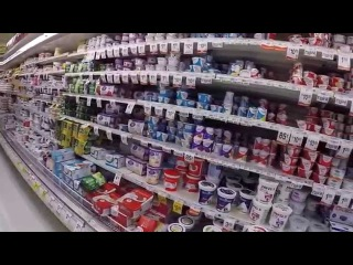 Супермаркет в США, цены на продукты