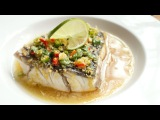 Thai Steamed Barramundi with Lime Sauce