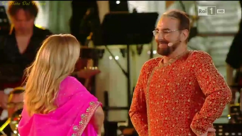 Romina Power con Kabir Bedi - Il Ballo Del Qua Qua (Live allArena di Verona 2015)