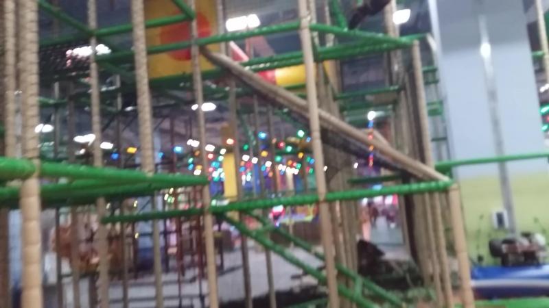 Детский развлекательный центр Бумеранг в Аэро Парке.Лабиринт » Freewka.com - Смотреть онлайн в хорощем качестве