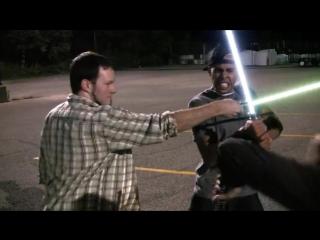 Бои на световых мечах!Супер-круто!!!