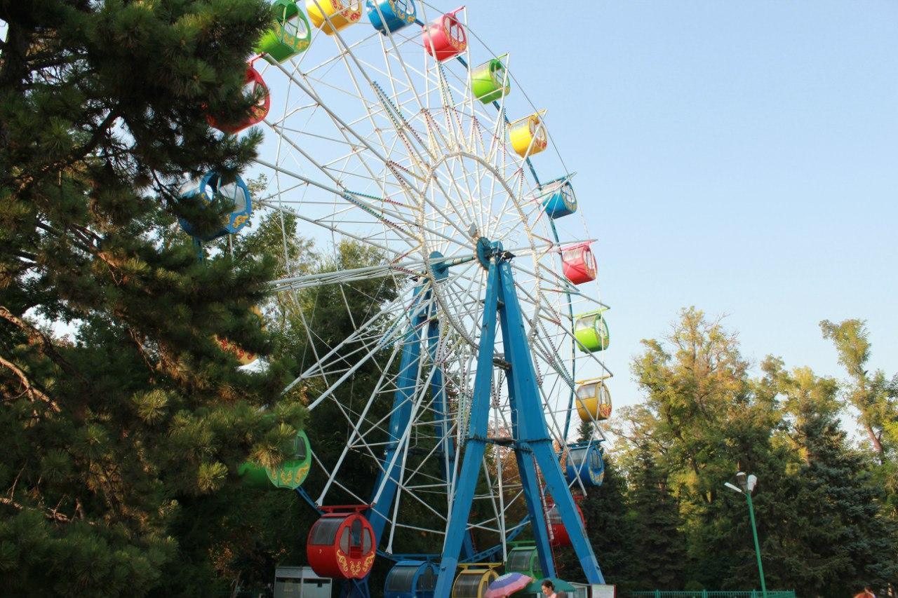 Анонс мероприятий в городском парке имени Горького в Таганроге с 19 по 20 сентября