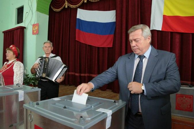 Врио губернатора Василий Голубев победил на выборах в Ростовской области