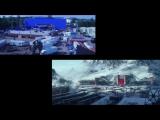 Зеленые экраны Звездных войн Пробуждение Силы