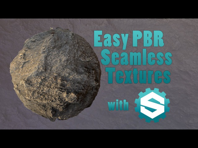 Easy PBR Seamless Textures with B2M