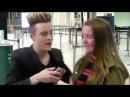Edward with fans || Jedward | Dublin Airport | 11116