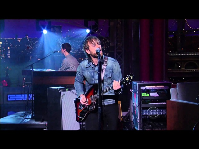 The Black Keys - Gold on the Ceiling (Live on Letterman 12-07-2011) [HD 1080p]