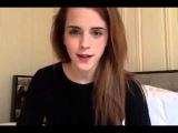 Эмма Уотсон поздравляет вас с 8 марта ;)