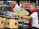 Drum solo - Drummer Daniel Varfolomeyev 10 years - Day city Dnepropetrovsk 2014