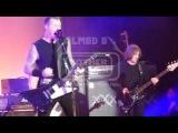 Metallica w Geezer Butler Sabbra cadabra A national acrobat LIVE San Francisco, USA 2011-12-10