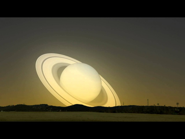 A visit from Saturn What if Saturn flew past the Earth