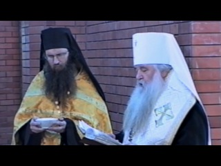 Митрополит Волгоградский и Камышинский Герман совершил закладку камня в основание строящегося храма.