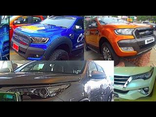 New Toyota Fortuner 2015, Ford Ranger 2015, Hilux Revo 2015. VIDEO!