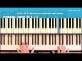 Титаник (Titanic piano, My Heart Will Go On) EASY piano tutorial piano cover
