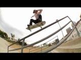Pop Shuv to Front Feeble Handrail &amp Half Cab Back Smith Handrail - Olivier Lucero