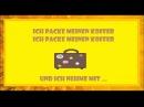 Deutsch lernen: Ich packe meinen Koffer als Lied