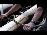 John Neeman Tools Peeling Drawknife In Action