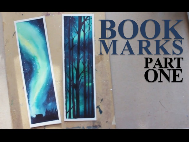 BOOKMARKS (1/2) [Aurora/Nightsky]