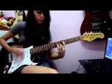 Scar Tissue - Red Hot Chili Peppers (Guitar Cover by. Debora Almeida)