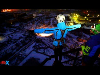 Svetlana M ProX Rope Jumping Chelyabinsk Sarkofag79 2015