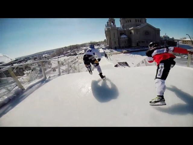 Ice Cross Downhill POV