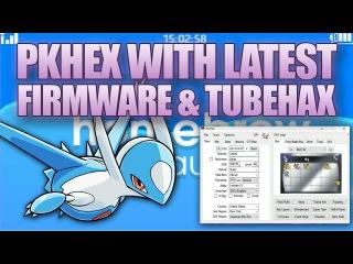 Pokemon ORAS: PKHex Genning With TubeHax Homebrew Tutorial! Firmware 9.9.0